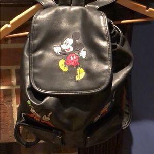Walt Disney Leather Backpack